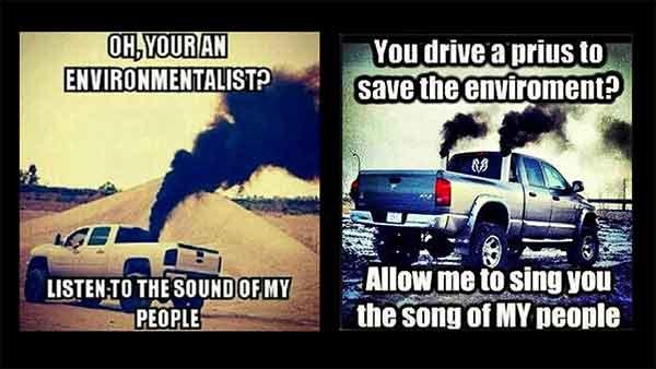 Image result for rolling coal meme