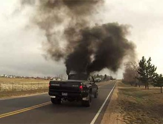 Rednecks Purposely Spewing Black Smoke To Piss Off Environmentalists