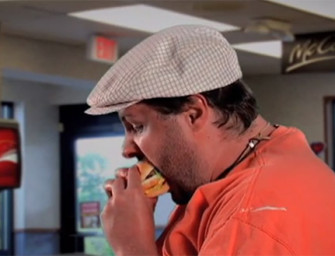 Watch A Fat Man Eat A BIG MAC