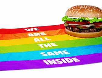 Controversy Over Gay Pride Hamburger