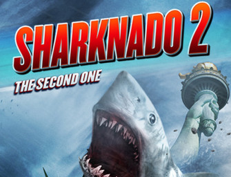 Sharknado 2, now with more Stupid!