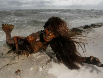 Dead Mermaid Washes Ashore In Haiti