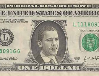 Obama Will Replace Washington On One-Dollar Bill