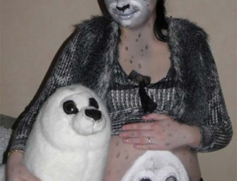 "Florida Woman Transforming Herself Into a ""Family of Seals"""
