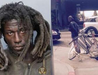 California Man Arrested For Stealing Bike Rack