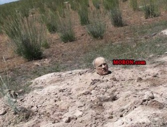Man Found Buried To His Head In Nevada Desert
