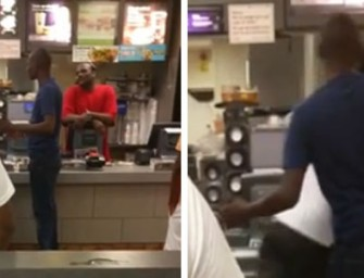 Man Slaps McDonald's Cashier Because There Were No Cheeseburgers