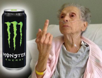 Monster Energy Drink Causes Grandmother Monster Heart Attack