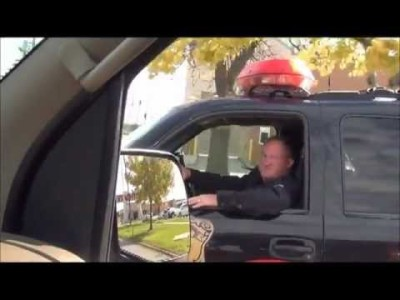 Citizen Attempts To Pull Over Cop