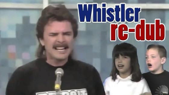 Stuppid Whistler On Talk Show